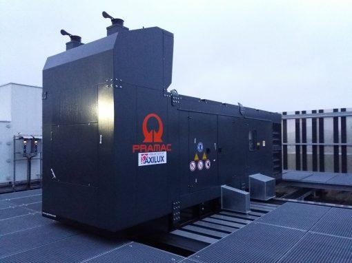 Installation d'un groupe électrogène pour Auchan – Differdange