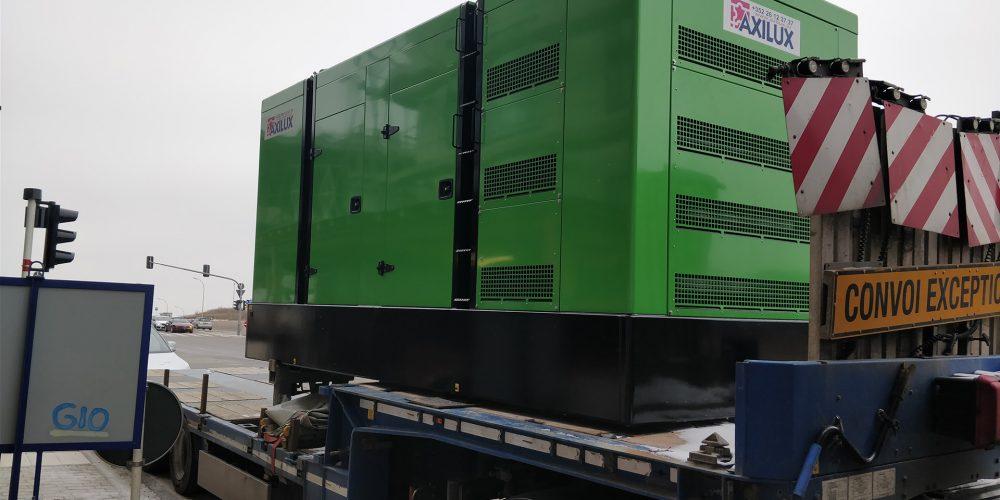 Installation d'un groupe électrogène pour Deloitte – Gasperich